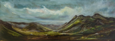 2016 THE LAKE DISTRICT - Little Langdale Oil On Panel