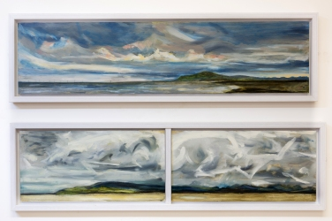 2015 - Storms over Black Combe I and II 114cm x 28cm