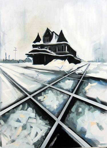 2012 - Crossroads Oil on Canvas