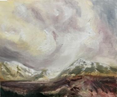 2018 ISLE OF SKYE – All Things Cullins Oil Sketch on Panel 12'x10′
